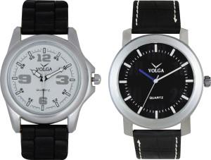 Volga Branded Leather Quality Designer Dial Diwali Special Combo32 Designer Sport Looks WaterProof Mens Watch Analog Watch  - For Men