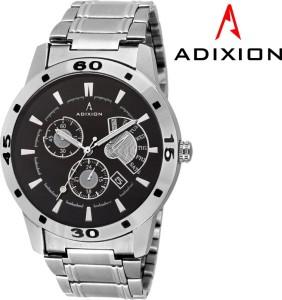 Adixion 9519SMC1 New Chronograph Pattern Stainless Steel Bracelet Watch Analog Watch  - For Men & Women