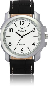 Volga VLW050012 Casual Leather belt With Designer Stylish Branded Fancy box Analog Watch  - For Men