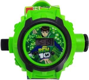 Faas Ben 10 Projector Watch For Boys & Girls. Digital Watch  - For Boys & Girls