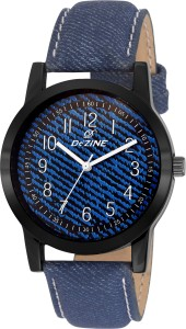 Dezine DZ-GR069-BLU-BLU Analog Watch  - For Men