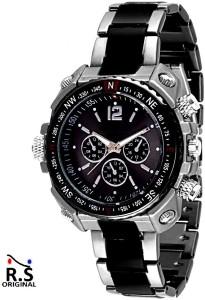 R S Original dhamaka offer Numerical Rim Chain Analog Watch  - For Boys