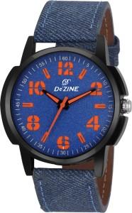 Dezine DZ-GR062-BLU-BLU Analog Watch  - For Men & Women