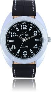 Volga VLW050031 Partywear Leather belt With Designer Stylish Branded Fancy box Analog Watch  - For Men