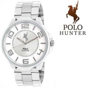 POLO HUNTER Silver Chain Knight Rider Analog Watch  - For Men