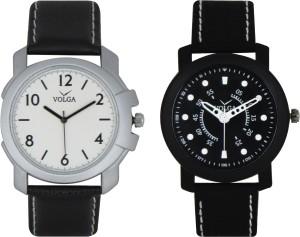 Volga Branded Leather Quality Designer Dial Diwali Special Combo173 Designer Sport Looks WaterProof Mens Watch Analog Watch  - For Men