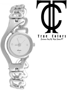 True Colors Simple & Sobber Look Silver Queen 2016 Analog Watch  - For Women