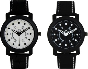 Volga Branded Leather Quality Designer Dial Diwali Special Combo261 Designer Sport Looks WaterProof Mens Watch Analog Watch  - For Men