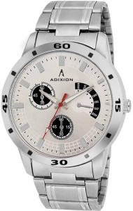 Adixion 9519SM03 New Chronograph Pattern, Stainless Steel Bracelet Watch Analog Watch  - For Men & Women