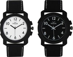 Volga Branded Leather Quality Designer Dial Diwali Special Combo202 Designer Sport Looks WaterProof Mens Watch Analog Watch  - For Men