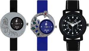 Frida Designer VOLGA Beautiful New Branded Type Watches Men and Women Combo231 VOLGA Band Analog Watch  - For Couple