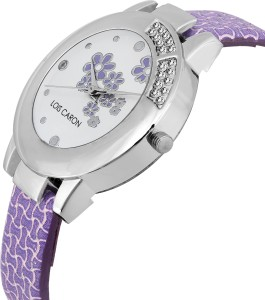 0671230692ce Lois Caron LCS 4564 CRYSTAL STUDDED Analog Watch For Women Best Price in  India