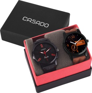 Casado 153and160 Combo of 2 Elegant Masterpiece Analog Watch  - For Men