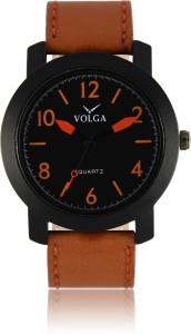Volga VLW050019 Sports Leather belt With Designer Stylish Branded Fancy box Analog Watch  - For Men