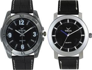 Volga Branded Leather Quality Designer Dial Diwali Special Combo626 Designer Sport Looks WaterProof Mens Watch Analog Watch  - For Men