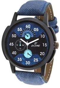 Dezine DZ-GR060-BLU-BLU Analog Watch  - For Men