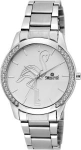 Swisstyle SS-LR465-WHT-CH Analog Watch  - For Girls