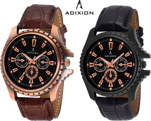 Adixion 133KL01NL01 New Chronograph Pattern Antique Bezel Analog Watch  - For Men