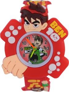 Creator Ben-10 Red Designer Analog Watch  - For Boys & Girls