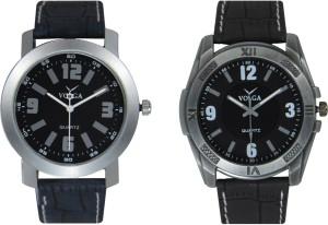 Volga Branded Leather Quality Designer Dial Diwali Special Combo579 Designer Sport Looks WaterProof Mens Watch Analog Watch  - For Men