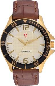 Swiss Grand Sg-0809_white Grand Analog Watch  - For Men