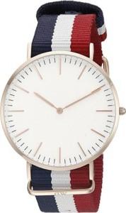 Spinoza DW blue white red stylish slim dial Analog Watch  - For Boys & Girls