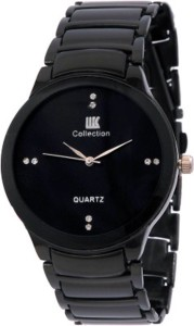 IIK Collection Black Edition Analog Watch  - For Men