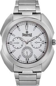 Swisstyle SS-GR8061-WHT Analog Watch  - For Men