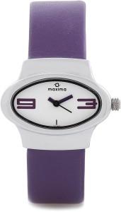 Maxima 27100LMLI Swarovski Analog Watch  - For Women