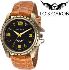 Lois Caron Lck-4039 Stylish Tan Analog Watch  - For Men