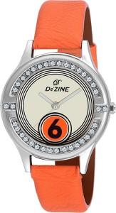 Dezine DZ-LR2016-ORG Jewel Analog Watch  - For Women