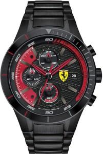 Scuderia Ferrari 0830264 Red Rev Evo Watch  - For Men