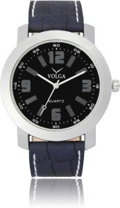Volga VLW050030 Partywear Leather belt With Designer Stylish Branded Fancy box Analog Watch  - For Men