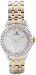 Titan NE9798BM02 Purple Analog Watch  - For Women