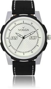 Volga VLW050040 Sports Leather belt With Designer Stylish Branded Fancy box Analog Watch  - For Men
