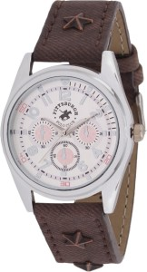 Pittsburgh Polo Club PBPC-551-WHT Analog Watch  - For Men