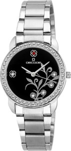 Decode LR-026 Blk Ladies Crystal Studded Analog Watch  - For Women