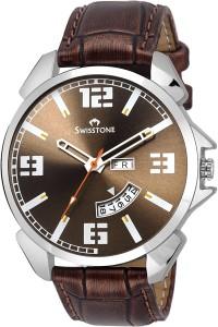 Swisstone SW-WT95-BRWN Analog Watch  - For Men