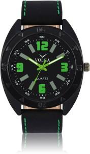 Volga VLW050018 Sports Leather belt With Designer Stylish Branded Fancy box Analog Watch  - For Men