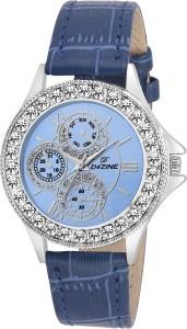 Dezine DZ-LR096-BLU-BLU Analog Watch  - For Women