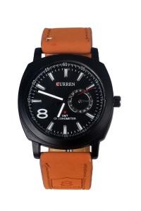 Curren L-8 MILITARY STRAP WATCH Curren Military Fashion Watch Analog Watch  - For Men