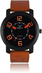Volga VLW050020 Sports Leather belt With Designer Stylish Branded Fancy box Analog Watch  - For Men