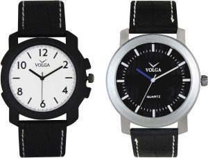 Volga Branded Leather Quality Designer Dial Diwali Special Combo227 Designer Sport Looks WaterProof Mens Watch Analog Watch  - For Men