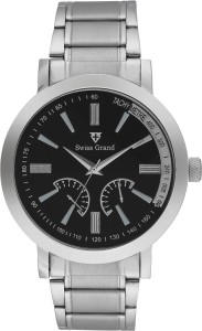 Swiss Grand Sg-1096_black Grand Analog Watch  - For Men