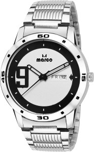 Marco DAY N DATE MR-GR3008-WHTBLK-CH ELITE CLASS Analog Watch  - For Men