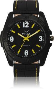 Volga VLW050017 Sports Leather belt With Designer Stylish Branded Fancy box Analog Watch  - For Men