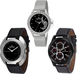 Decode Combo of three Analog Watch  - For Men & Women