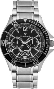 Swiss Grand Sg-0810_black Grand Analog Watch  - For Men