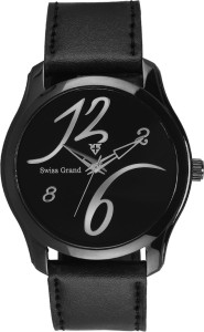 Swiss Grand Sg-0219_black Grand Analog Watch  - For Men