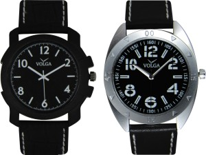 Volga Branded Leather Quality Designer Dial Diwali Special Combo248 Designer Sport Looks WaterProof Mens Watch Watch  - For Men